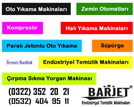 Oto Yıkama Adana Barjet Temizlik Makineleri - Barjet Temizlik Makinaları